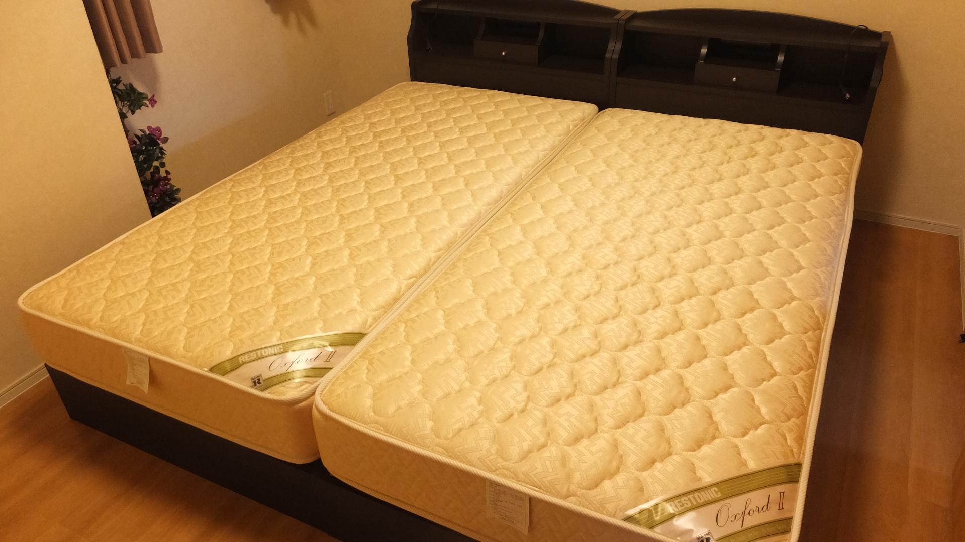 東京都足立区でレストニックのベッドを買取させていただきました | エコ空間